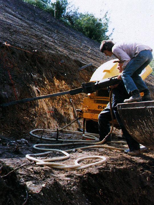 soil-nailing